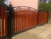 Brama dwuskrzydłowa Kinga