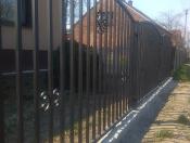 Ogrodzenie Model pionowe w Ramie