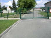 Brama z panela