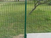Panel prosty z przegięciem montowany na listwy